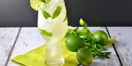 Ginger Mint Lime Syrup