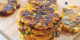Savory Sweet Potato & Kale Pancakes ( Copy )