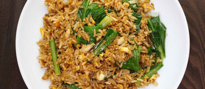 Brown Rice with Arugula