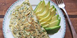 Avocado and Herb Omelet