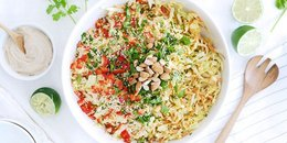 Asian Cabbage Salad with Awesome Sauce
