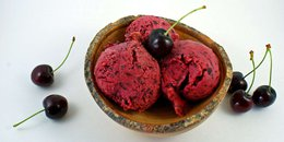 Cherry Sorbet (Without an Ice Cream Maker)