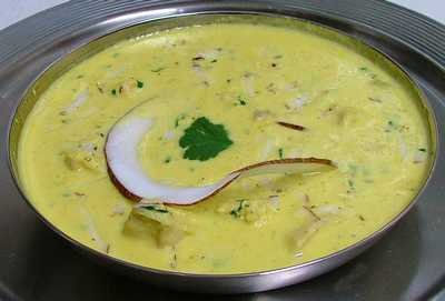 Creamy Vegetable Korma with Almonds