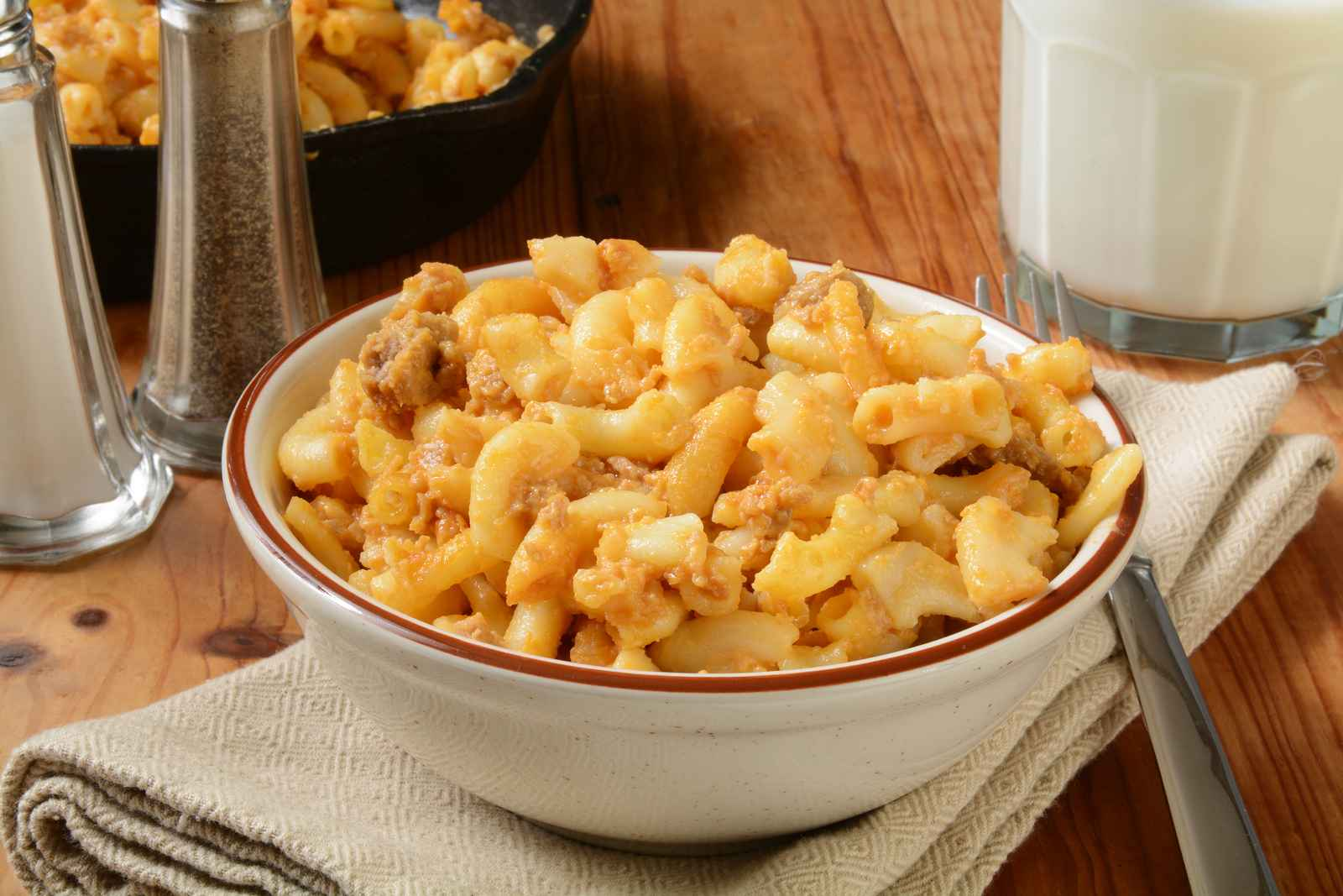 Macaroni & Cheese with Turkey