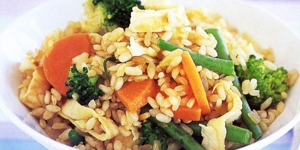 Easy Fried Rice (Brown Rice)