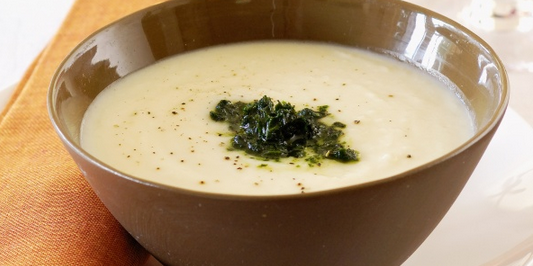 Roasted Parsnip Cream Soup