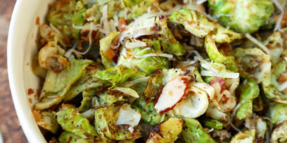 Brussels Sprouts with Oregano and Parsley