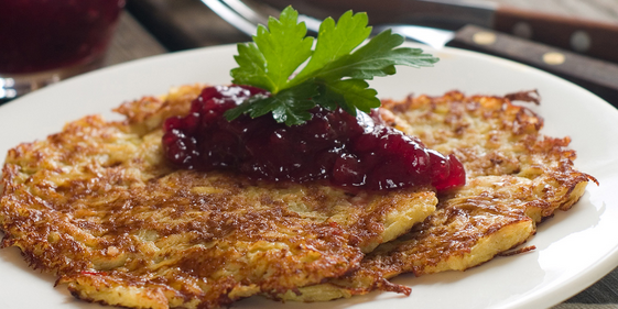 Cranberry Apple Pancakes