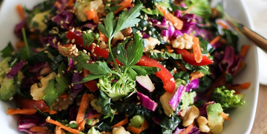 Ultimate Thai Slaw Salad