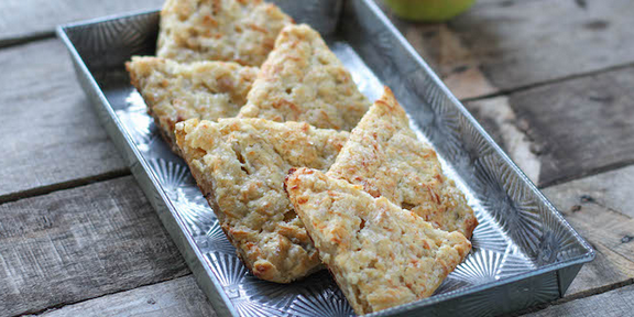 Savoury Pear and Cheese Scones