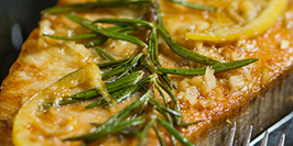 Herbed Swordfish with Rosemary