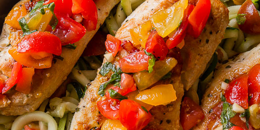 Bruschetta Chicken Dinner
