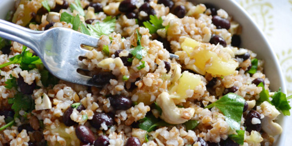 Pineapple Black Bean Salad
