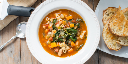 DASH Diet Minestrone Soup