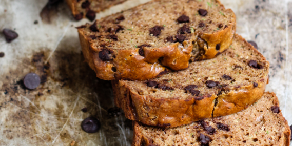 Peanut Butter Chocolate Chip Zucchini Bread