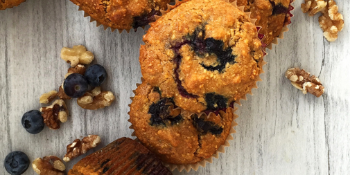 Antioxidant Superfood Muffins