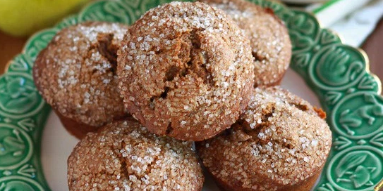 Gingerbread Pear Muffins