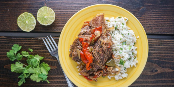 Slow Cooker Spicy Braised Beef