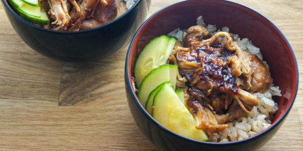 Slow Cooker Sweet & Spicy Chicken