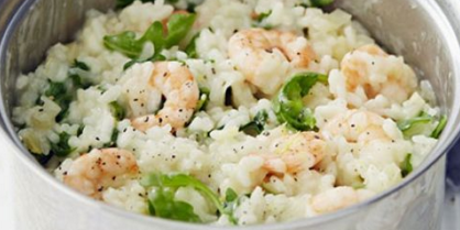 Prawn, Fennel & Rocket Risotto