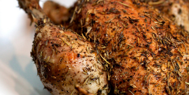 Za'atar Herbed Chicken