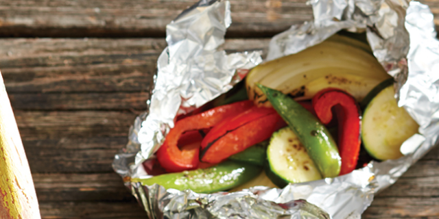 Foil-Packed Veggies