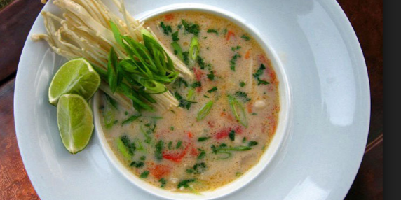 Thai Ginger Coconut Soup