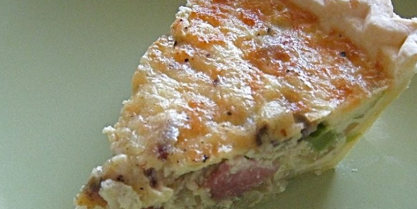 Easy Bacon Cheese Quiche