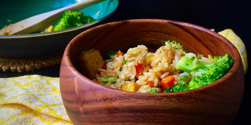 10-Minute Vegan and Gluten Free Rice fo.. ( Copy )