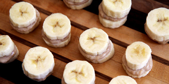 Frozen Banana Snacks