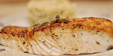 Sear Roasted Halibut