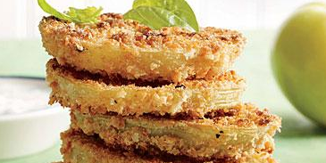 "Pickled ""Fried"" Green Tomatoes"