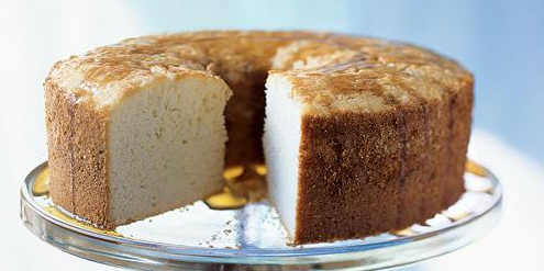 Sour Cream Pound Cake with Rum Glaze