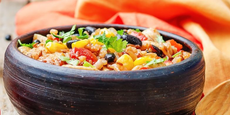 Mexican Turkey and Black Bean Salad