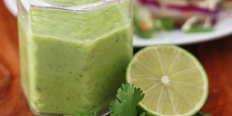 Citrus Avocado Dressing and Dip
