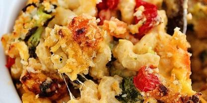 Roasted Vegetable Macaroni & Cheese