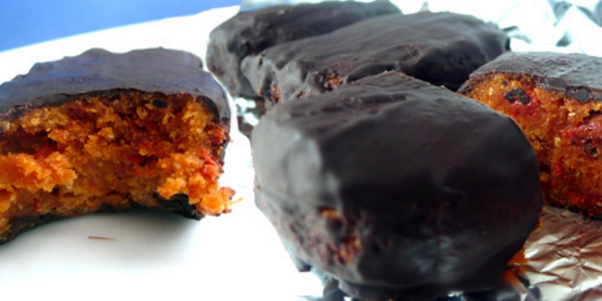 Red Velvet Pumpkin Seed Protein Bars
