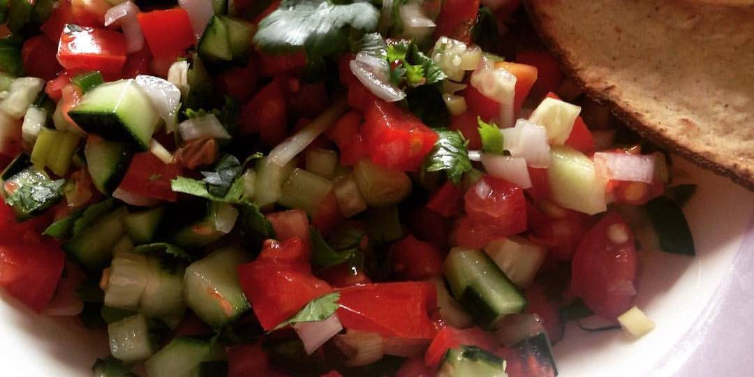 Cucumber Pico de Gallo