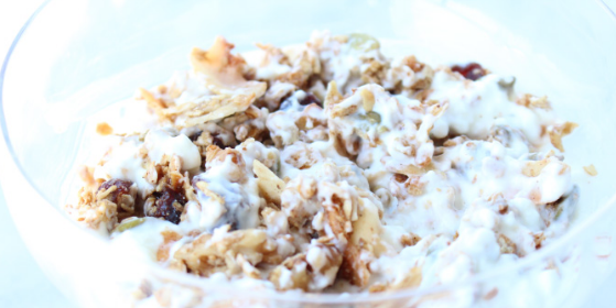 Comforting Cranberry Ginger Granola