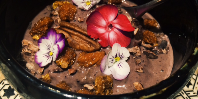 Deep Chocolate Smoothie Bowl