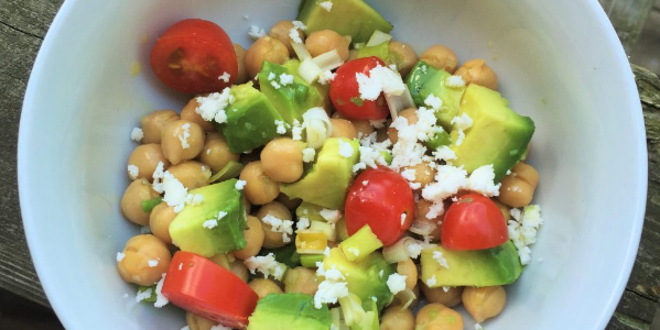 My Daughter's Favourite Chickpea Salad
