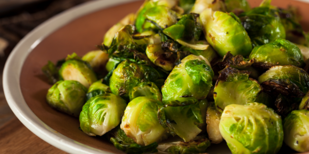 Chef Noureen Feerasta's Roasted Brussels Sprouts