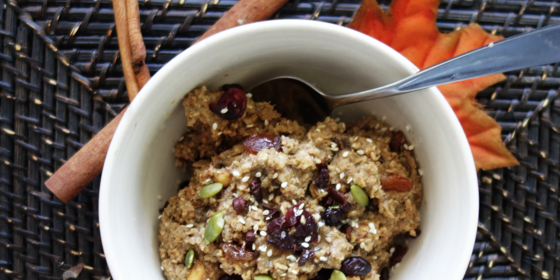 Hearty and Healthy Warm Porridge Bowl