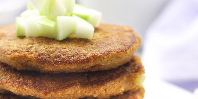 Apple Chai Pancakes