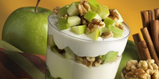 Apple & Walnut Yogurt Parfait