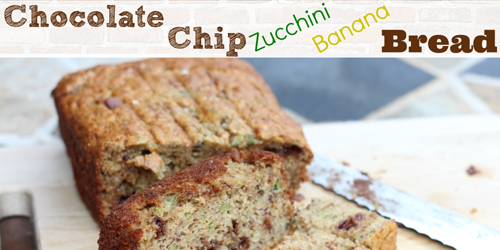 Chocolate Chip Zucchini Banana Bread