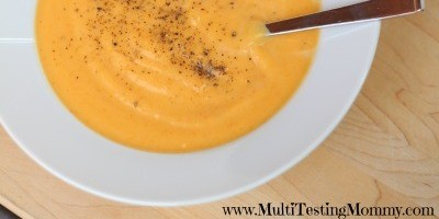 Creamy Carrot Ginger Soup