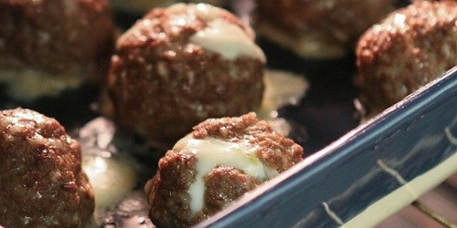 Mozzarella Stuff Meatballs