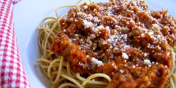 Slow Cooker Sausage Spaghetti Sauce
