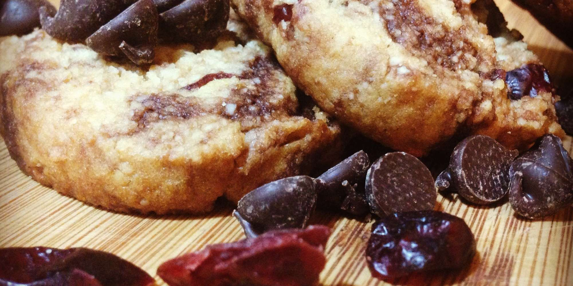 Chewy Chocolate Cranberry Cookies